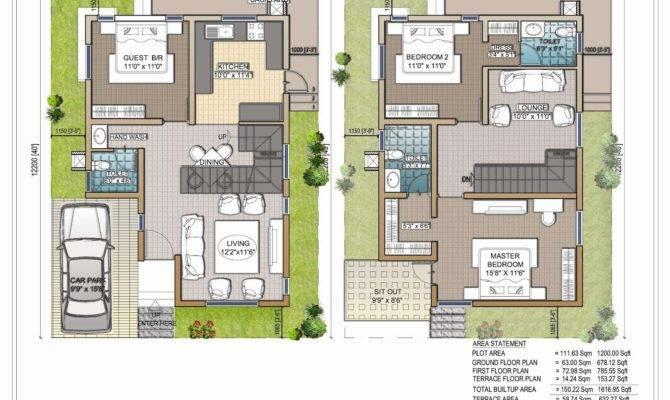 Duplex House Plans India