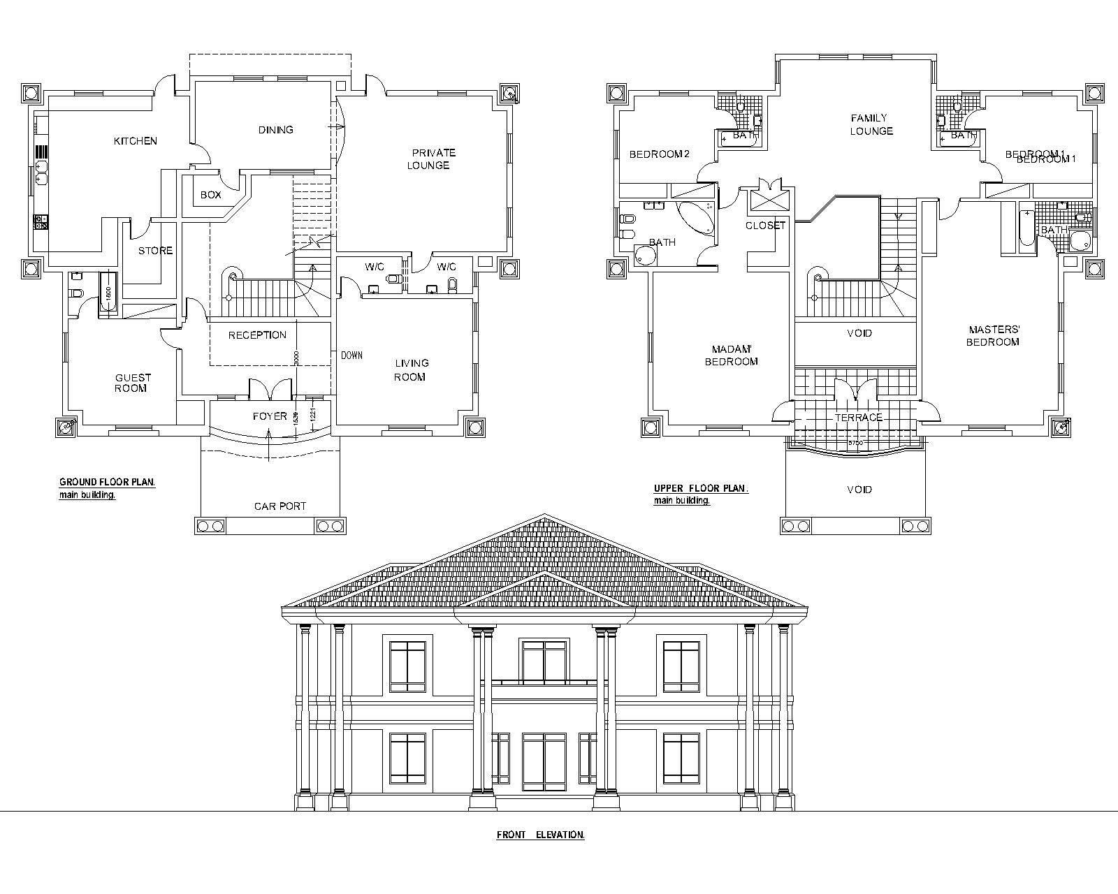 11 Simple Duplex Designs Floor Plans Ideas Photo House Plans
