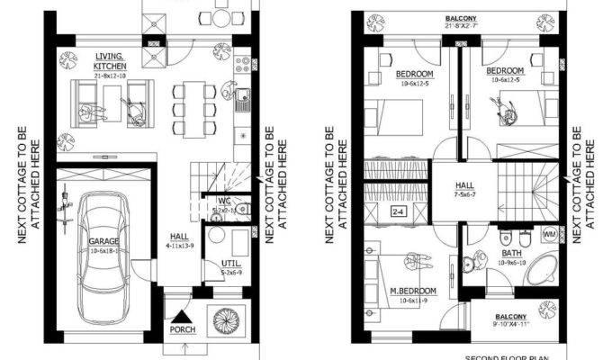 Duplex House Plans Under