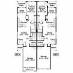 Duplex Plan Braydon Floor