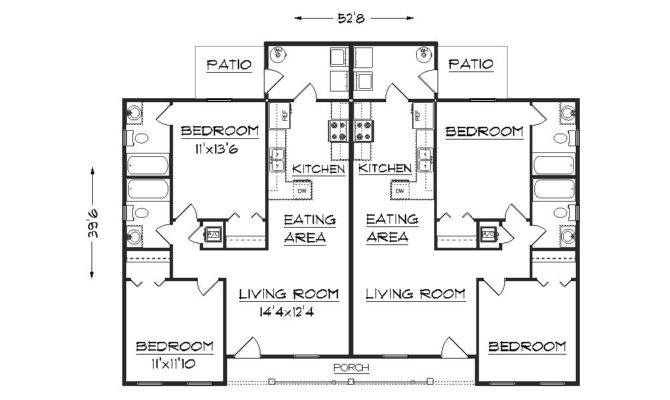 Duplex Plan Floor
