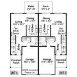 Duplex Plan Toliver Floor