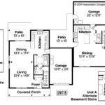 Duplex Plan Vernon Floor