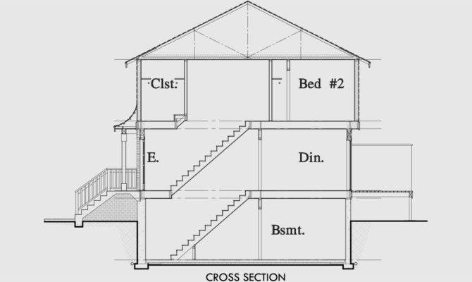 Duplex Plans Basement Bedroom House