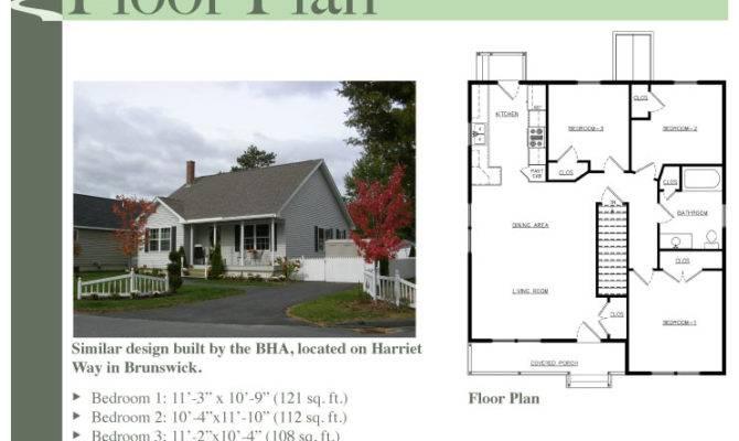Durham Bungalow Floor Plan