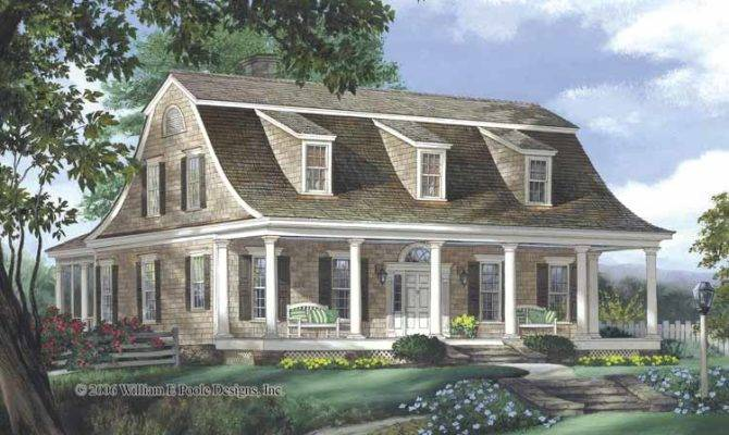 Dutch Architectural Style Colonial Home Plans