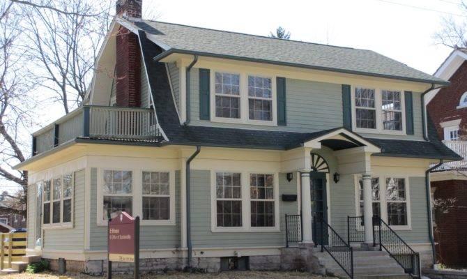Dutch Colonial Homes House
