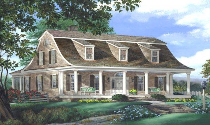 Dutch Colonial Style House Plans Southern