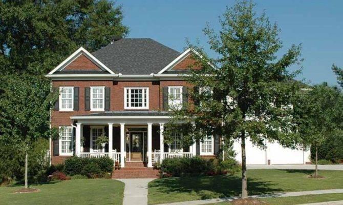 Early American Colonial Hwbdo Builderhouseplans