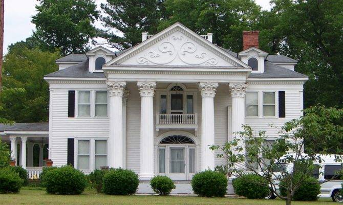 Early Classical Revival Style House
