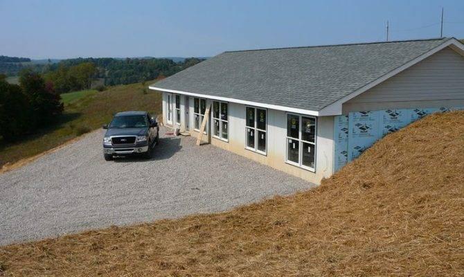 Earth Berm House Progress Intensive Homesteading Today
