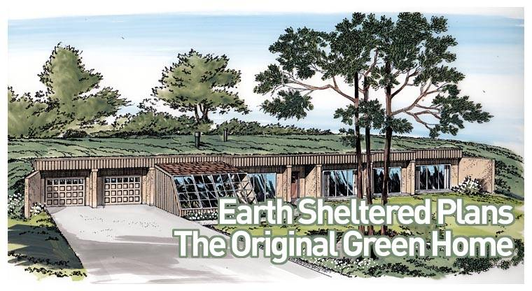 Earth Bermed Home Plans House Designs