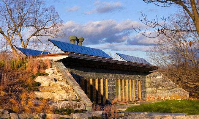 Earth Bermed House Allan Shope Inhabitat Green