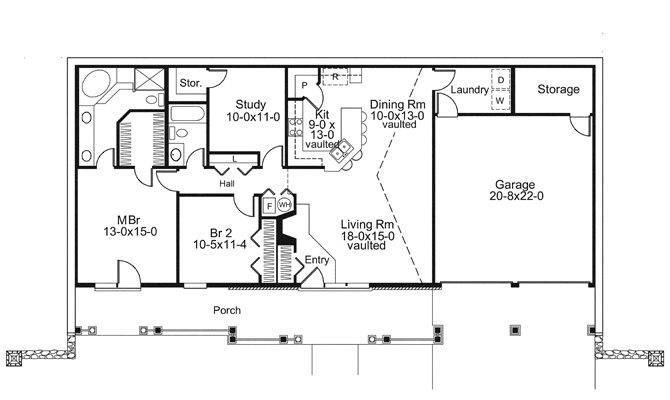 Earth Home Sheltered House Plans