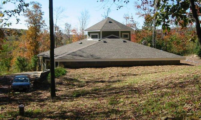 Earth Shelter Style Home Plans Berm House Designs