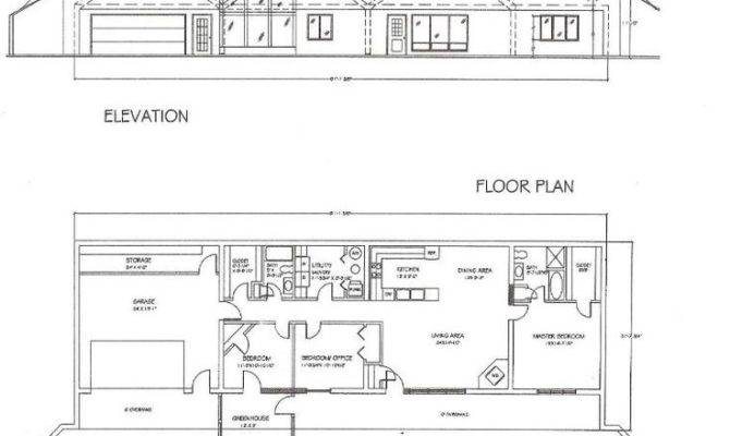 Earth Sheltered Underground Floor Plans