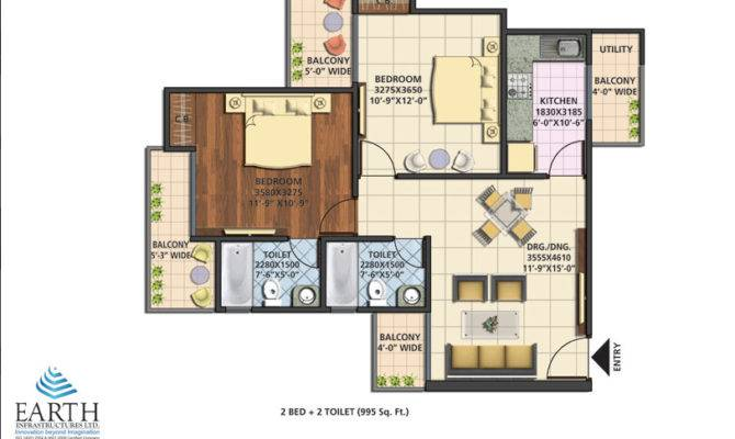 Earth Towne Floor Plan Layout