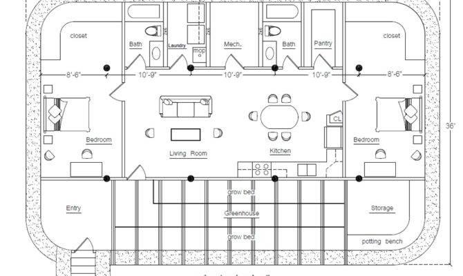 Earthbag Building House Plans House Plans 67179
