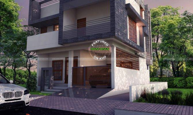 East Facing Contemporary Home Kerala Design