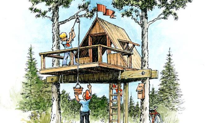 Easy Build Treehouse Ubuild