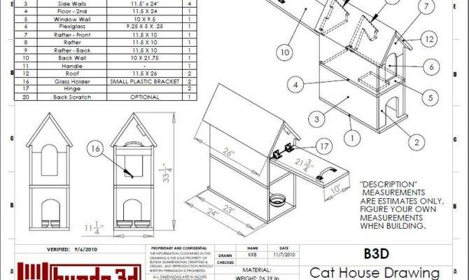 Easy Cat House Plans Insulated