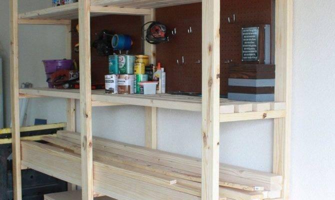 Easy Diy Garage Shelving Hometalk