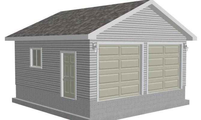 Easy Follow Garage Plan House