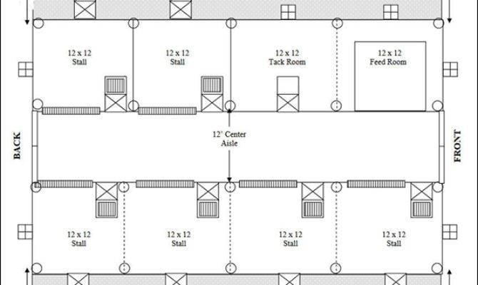 Easy Horse Barn Floor Plan Design Software Cad Pro