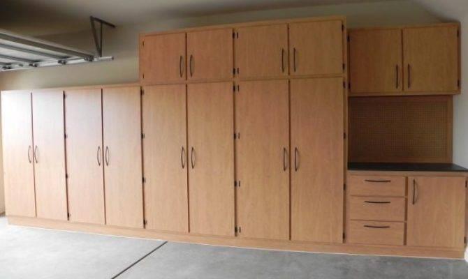 Easy Steps Garage Storage Cabinet Plans