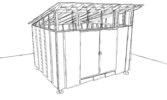 Ecclesia Domestica Design Storage Shed