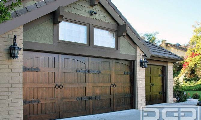 Eclectic Style Garage Doors Arts Crafts Door Designs