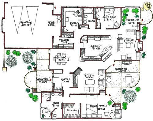 Eco Friendly House Designs Floor Plans Home Decor House Plans 88049
