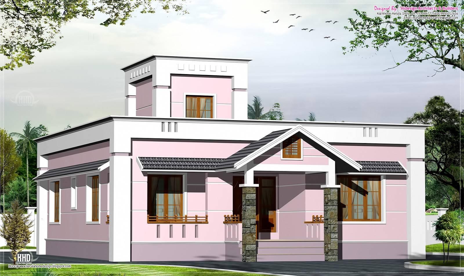 Eco Friendly Houses Feet Small Budget Villa Plan House Plans 3722