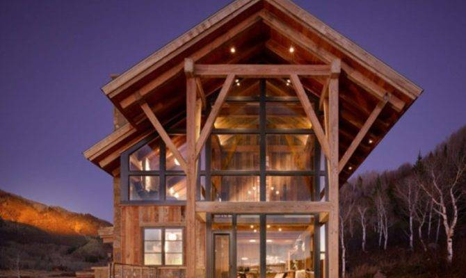 Eco Friendly Modern Rustic Resindence Colorado Digsdigs