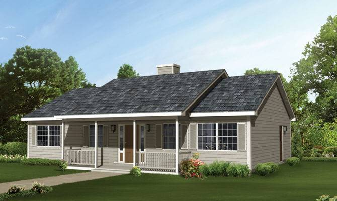 Edgehollow Country Ranch Home Plan House Plans More