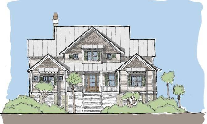 Edisto Tide Flatfish Island Designs Coastal Home Plans