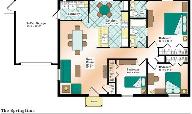 Efficient Home Design Plans Homes Floor