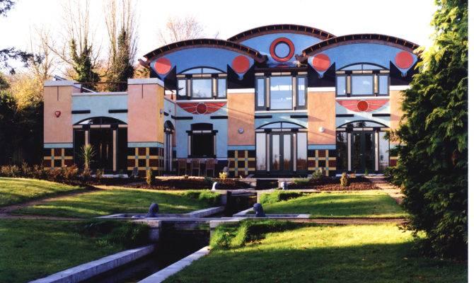 Egyptian Style House Basil Wyatt Sons