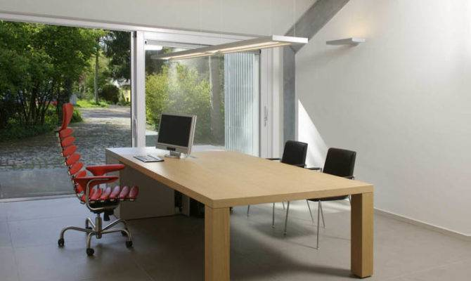 Eindhoven Garage Transformed Into Light Filled Home Office