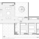 Eins House Integrated Minimalist Design Floor Plan