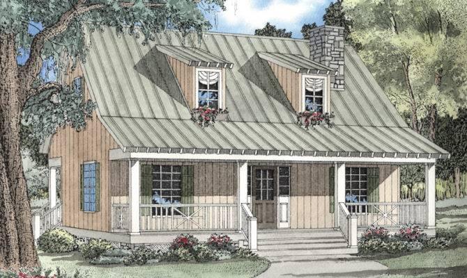 Elderberry Cozy Cabin Home Plan House Plans