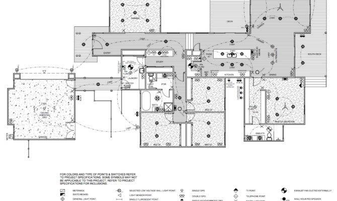 Electrical Plan Lot