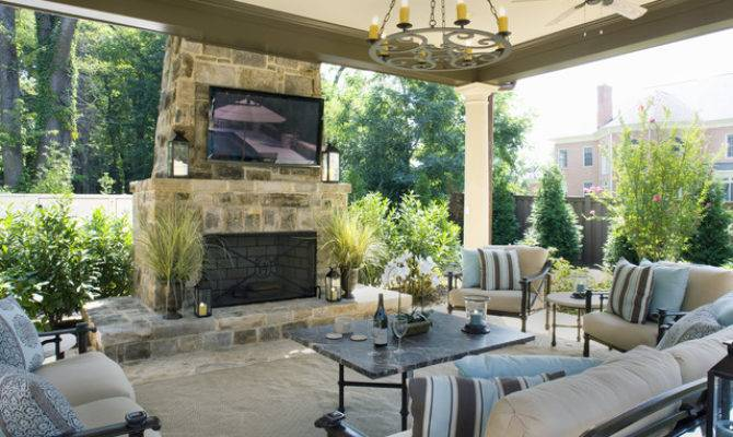 Elegant Backyards House Plans 93495