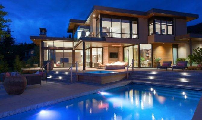 Elegant Contemporary House West Vancouver Canada