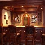 Elegant Custom Home Bar Ideas Design