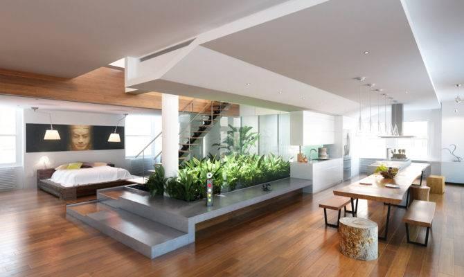 Elegant Great Interior Loft Home Designs Design