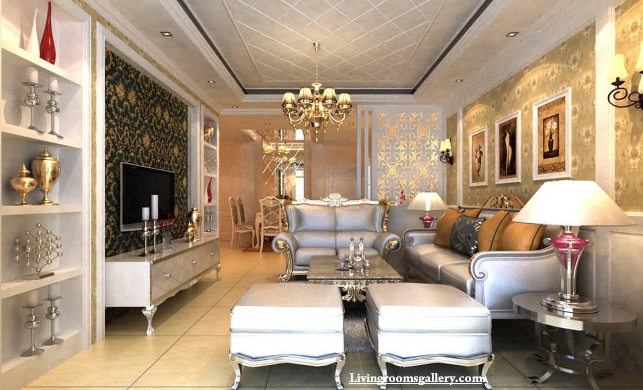 Elegant Modern Pop False Ceiling Designs Living - House ...
