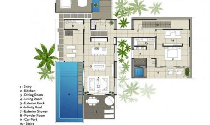 Elegant Modern Villa House Plans New Home Design