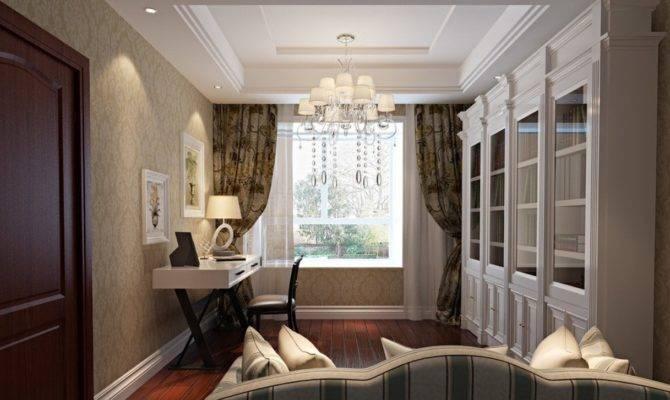 Elegant Neo Classical Style Interior Design Study House
