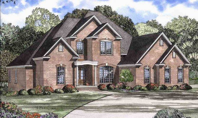 Elegant Two Story House Plan Floor Master